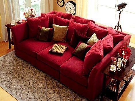 Canapé Géant le canapé se fait géant !   idees decoration   mobilier de salon