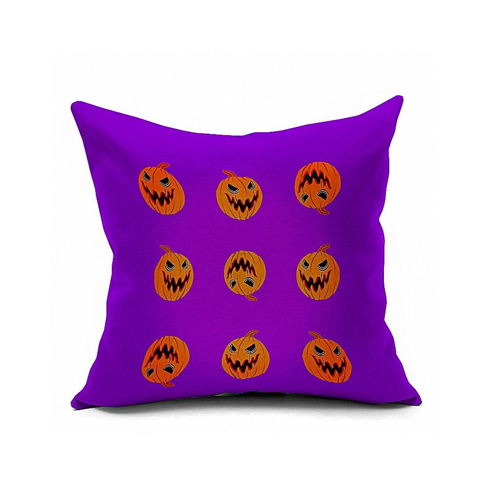 Cotton Flax Pillow Cushion Cover Halloween    WS152