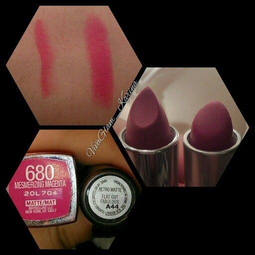 DUPE ALERT: found a dupe to @maccosmetics Matte lipstick