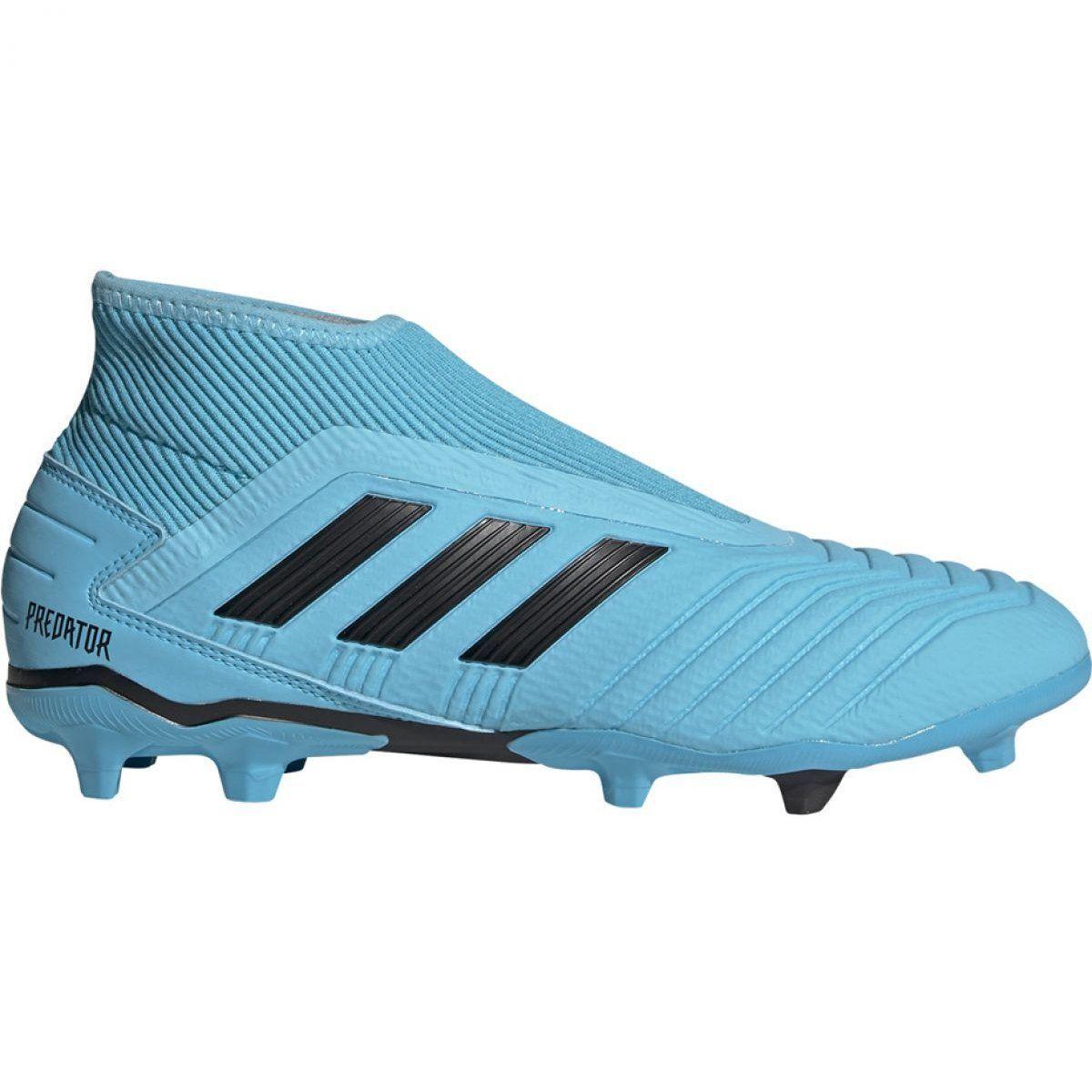 Buty Pilkarskie Adidas Predator 19 3 Ll Fg M G27923 Wielokolorowe Niebieskie Adidas Predator Football Shoes Adidas