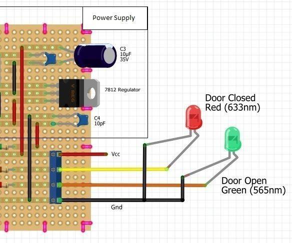 Garage Door Open Closed Indicator Garage Doors Home