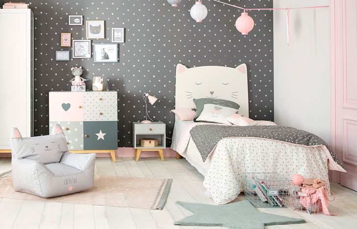 Pastel Kids Rooms By Maisons Du Monde Soft And Stylish Photos Ideas Design Pink Bedroom Furniture Girls Bedroom Sets Bedroom Themes
