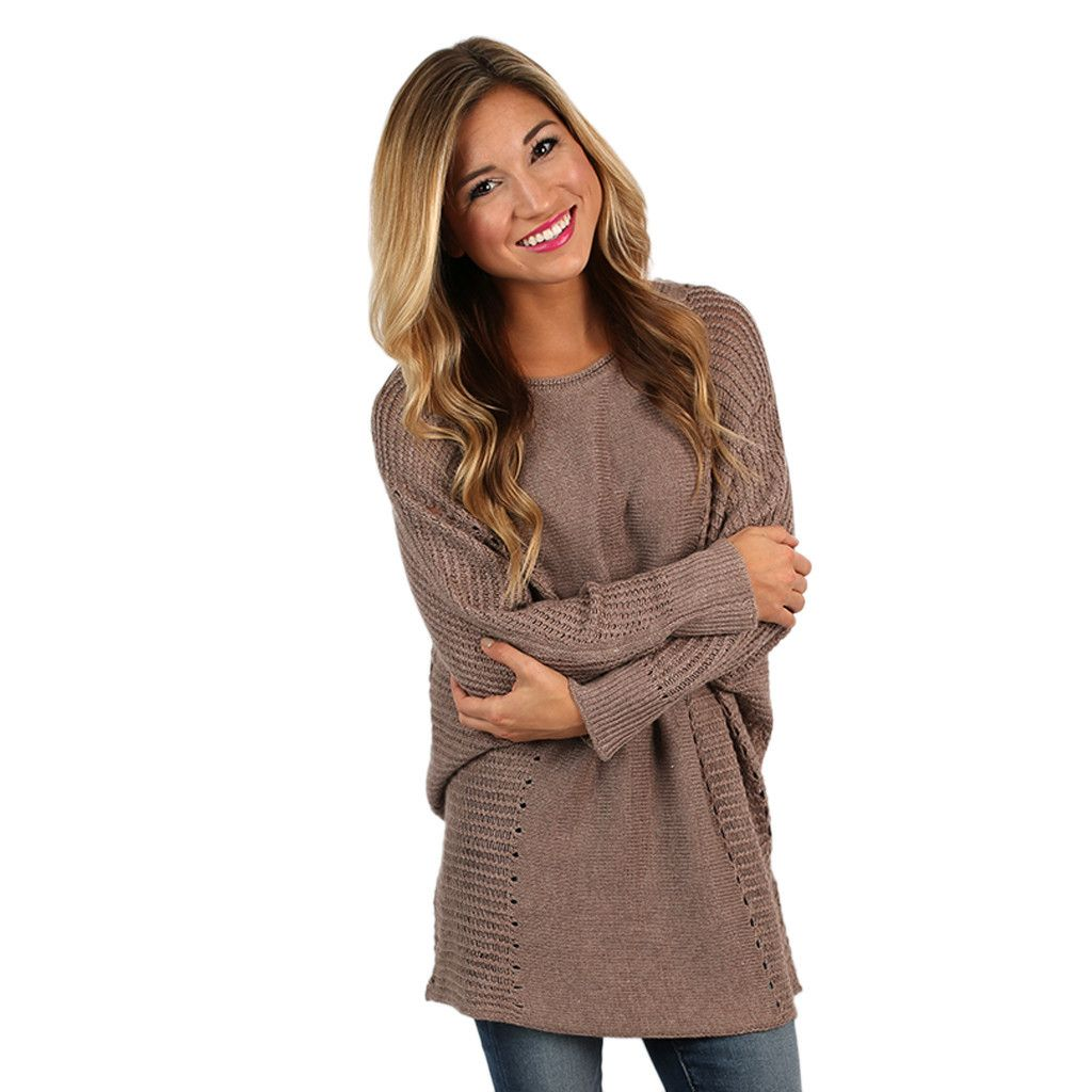 Just So Cozy Tunic Sweater in Taupe | Tunic sweater, Tunics and Taupe