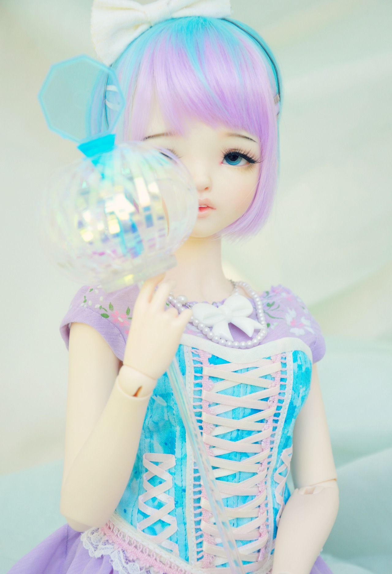 Culur Faceups — ♥♥ My Shy little blue and purple Princess♥♥