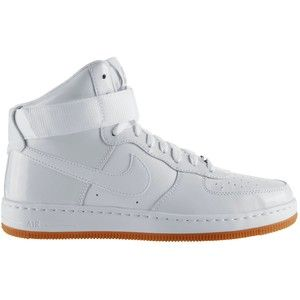 Womens cross trainers, White leather