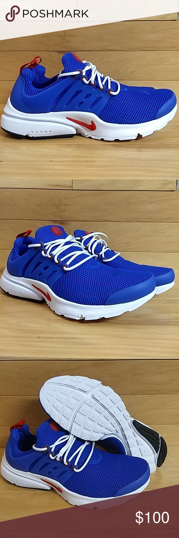 d41f6b5a32 Nikr Air Presto Essential Blue Red 848187-408 Brand New. With Box. Great  quality Nike running/casual sneakers at a great price.