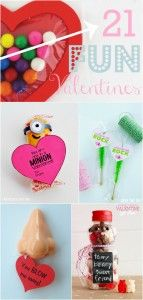 21 Fun Valentines + love signs + teachers apreciation gifts, etc