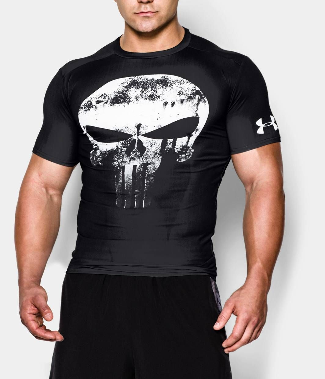 Men 39 s under armour alter ego punisher compression shirt for Beast mode shirt under armour