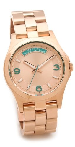 turquoise Marc Jacobs watch