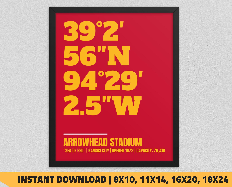 Pin On Stadium Coordinates Digital Prints