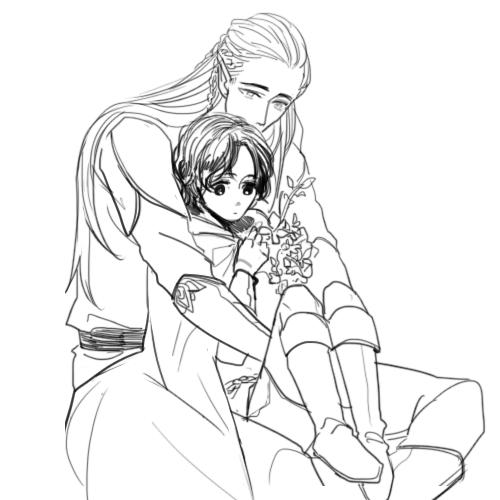 Estel and Legolas | el señor de los anillos | Pinterest | El señor ...