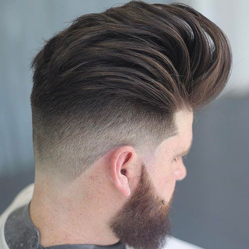 How To Style A Modern Pompadour | Pompadour, Modern Pompadour And Hairstyles  2018