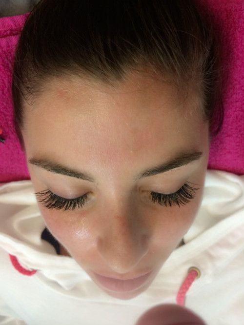 Beautiful Long Lashes Applied One At A Time By Our Awesome Sashawn