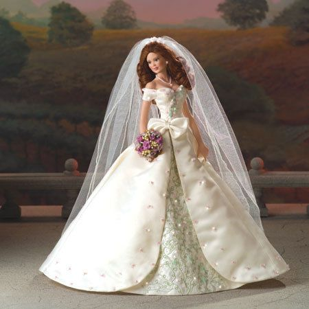 Details about Touch of Elegance Bride Doll Cindy McClure Ashton Drake Bradford Exchange Doll #bridedolls
