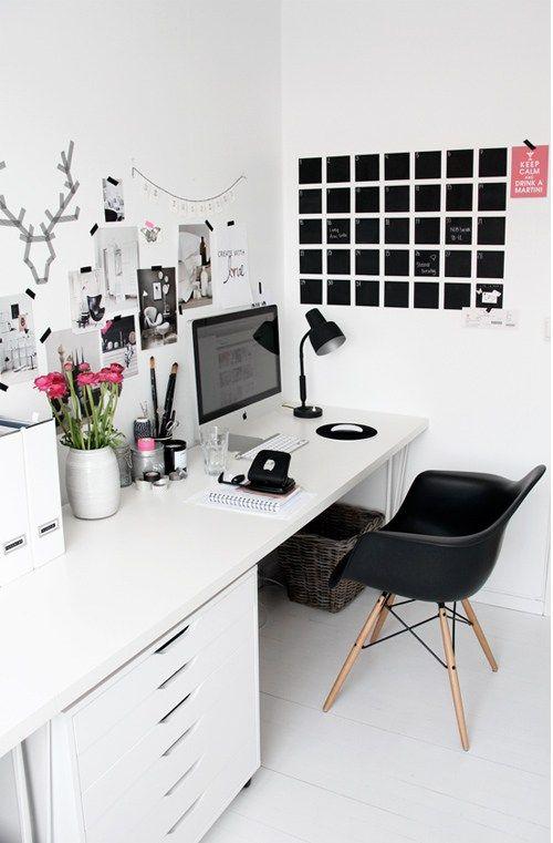 des idées pour aménager un bureau dans un petit espace | interiors