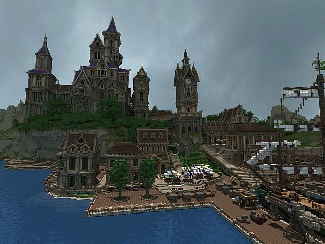 how to build a cool minecraft town