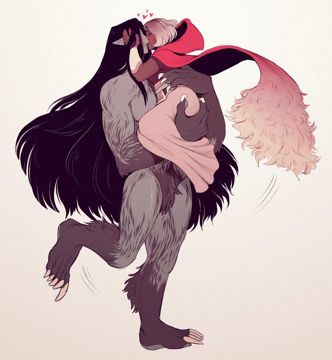 (2) Twitter | Werewolf, Moon goddess, Anime