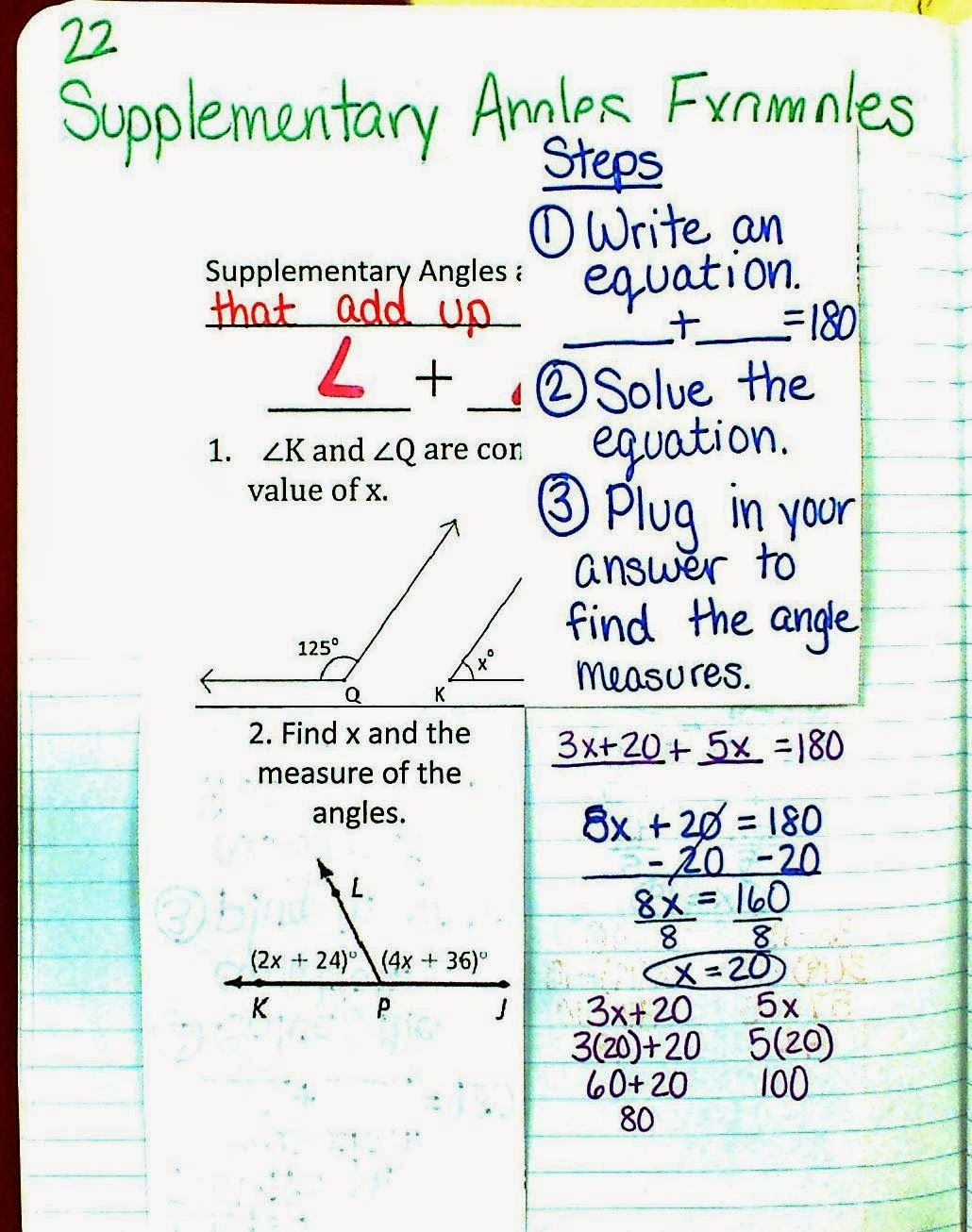Mrs Atwood S Math Class Angle Relationships Unit