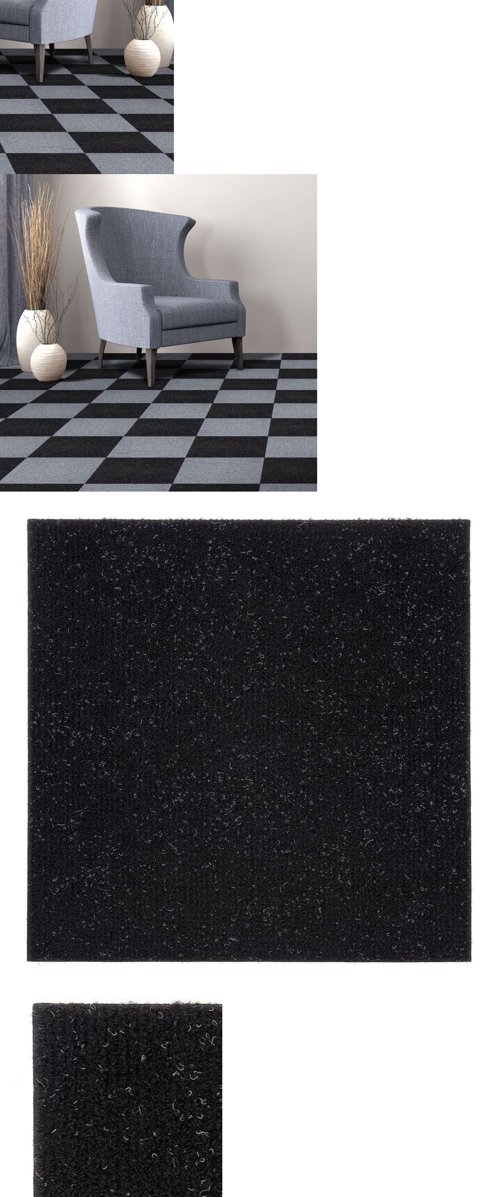 Details About Carpet Tiles Peel And Stick Self Adhesive Squares
