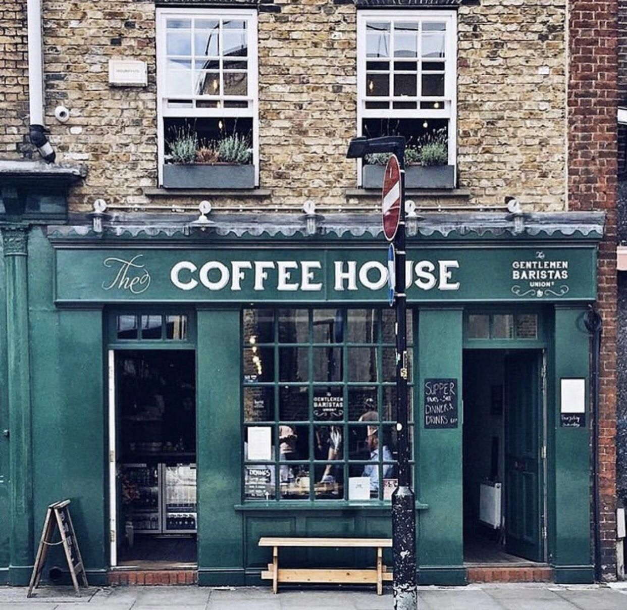 We found our coffee shop when we visit London! Photo