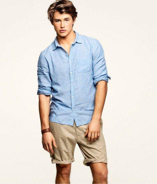 H Straight Cut Shorts | FASHION & STYLE | Pinterest | Cut shorts