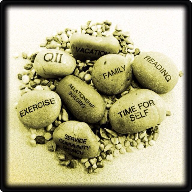 My Favorite 7 Habits Pic What Are Your Big Rocks Love