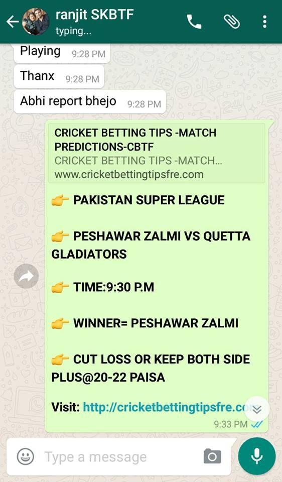 Pin On Pakistan Super League Cricket Betting Tips Free