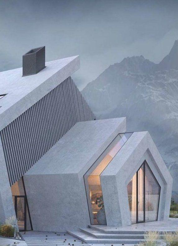 Concrete PENTAHOUSE by Wamhouse Studio -  #architecture #homedesign #luxuryhouse #modernhouse #luxury   - #concrete #HouseDesign #ModernHomeDesign #ModernInteriorDesign #pentahouse #studio #wamhouse