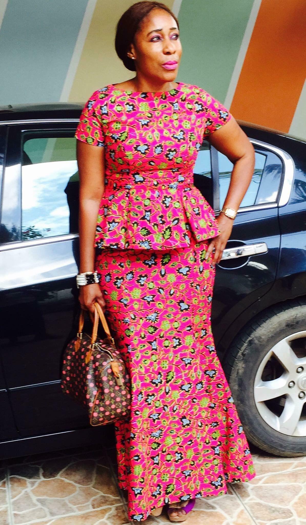 """Résultat de recherche d'images pour """"model pagne africain simple""""   African print fashion ..."""