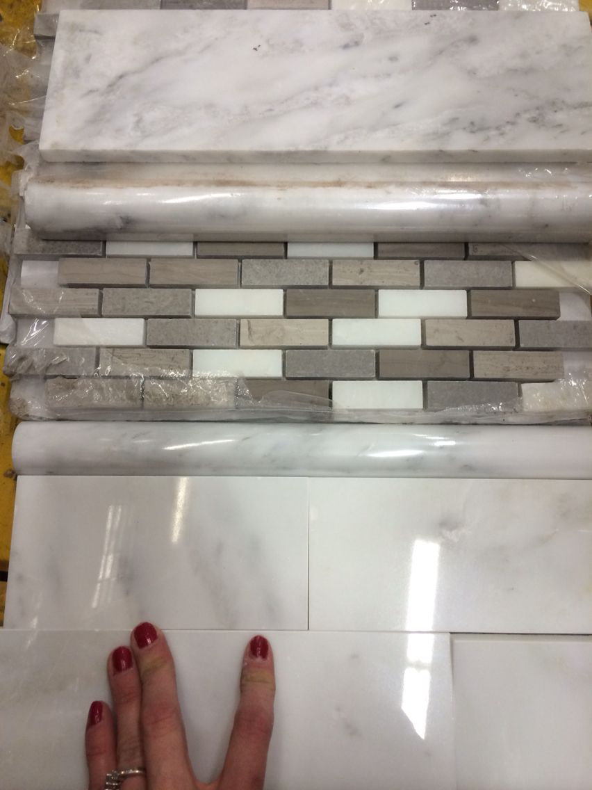 Home Depot Backsplash Tiles Arctic Storm Mosaic Home Depot
