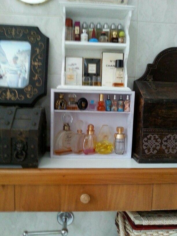 Colección de Perfumes.