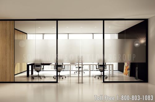 Movable Glass Partition Walls for Commercial Offices (With