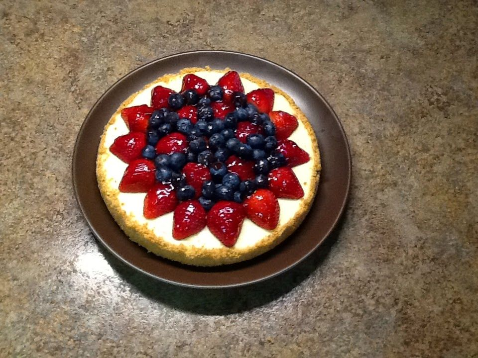 Ever Ready Berry Almond Cheesecake recipe posted July 4, 2014