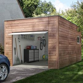 Garage En Bois Nano Home Brico