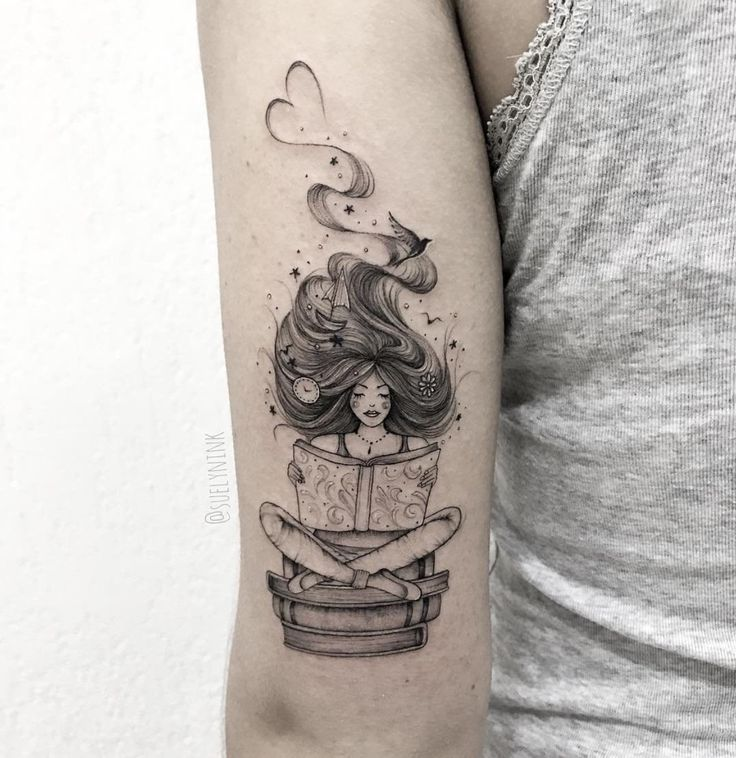 literary tattoos for bookworms