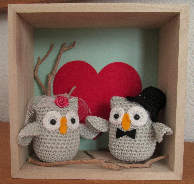 Cadeau Voor Een Bruidspaar Trouwen Amigurumi Crochet En Knitting