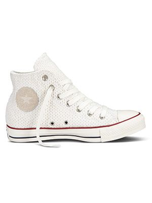 Cult Object: Converse All Star Knit Sneakers #whiteallstars