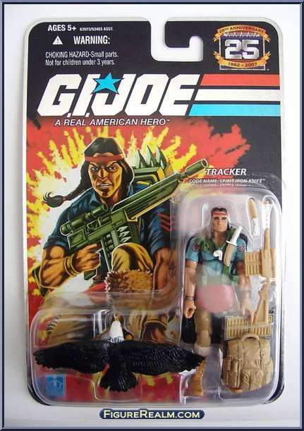 Spirit Iron Knife from G.I. Joe - 25th Anniversary - Wave  7 manufactured by Hasbro [Front]