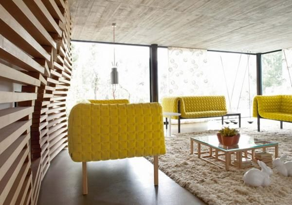 Warm Living Room Décor With Mustard Color | Warm living rooms ...