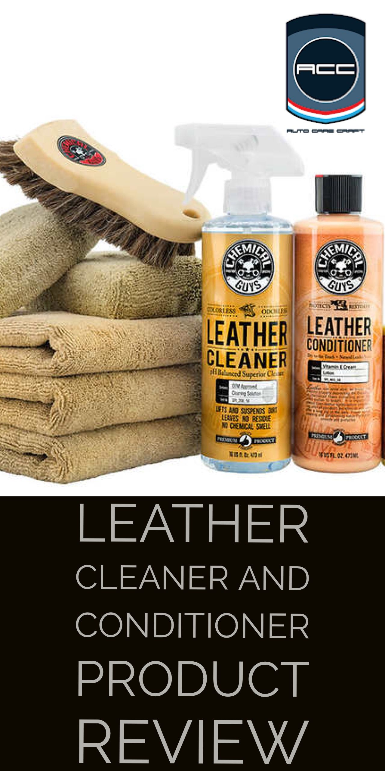 Chemical Guys Leather Care Kit Product Review Automotive Product