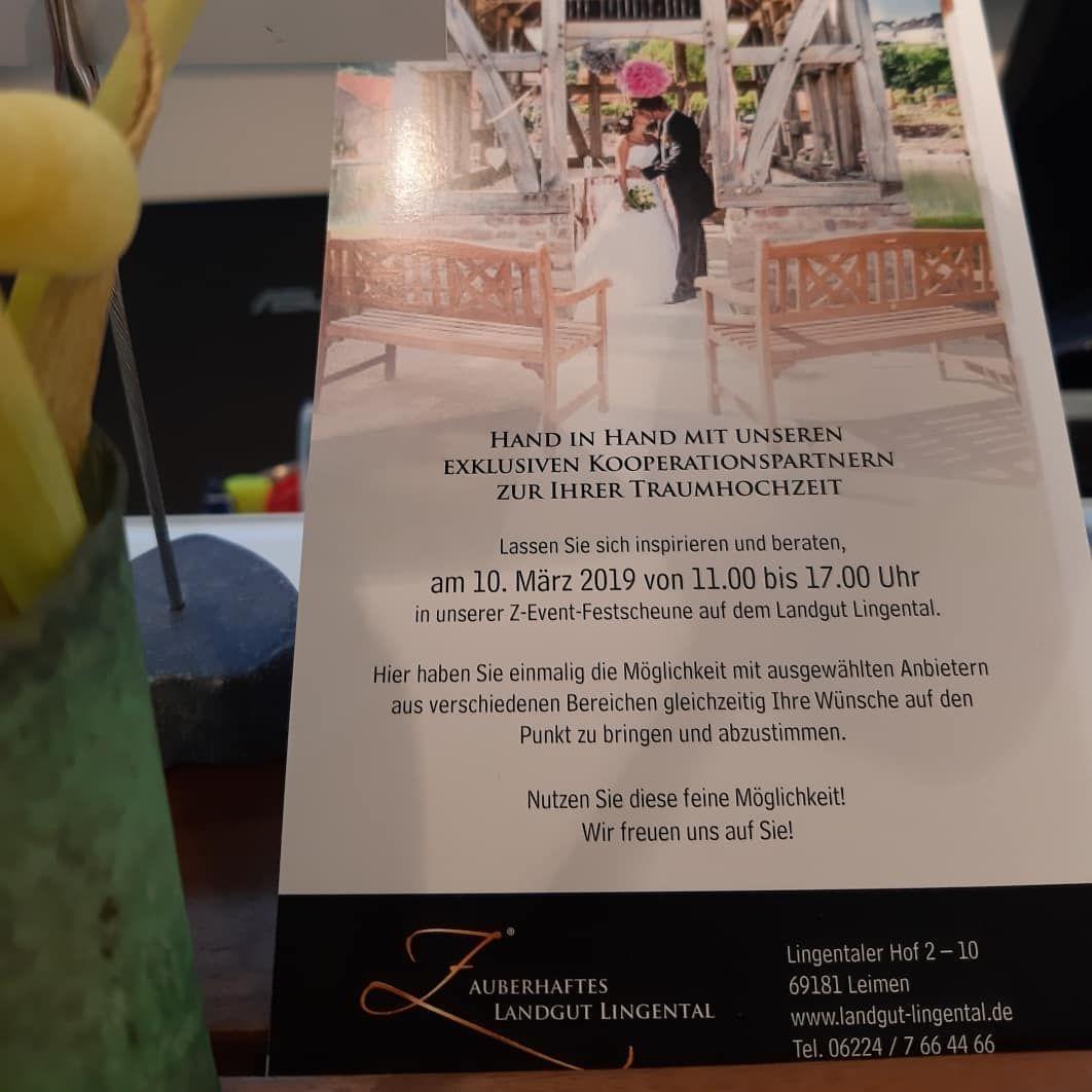 Bald Ist Es Wieder Soweit Das Zauberhafte Landgut Lingental Bietet Inspiration Zum Thema Hochzeit Event Event Ticket