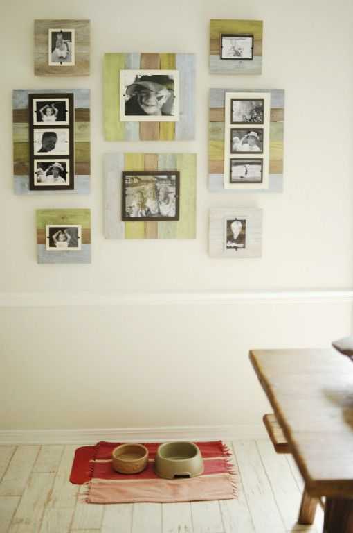 New Reclaimed Wooden Frames at Iron Accents for 2014! #Rustic ...
