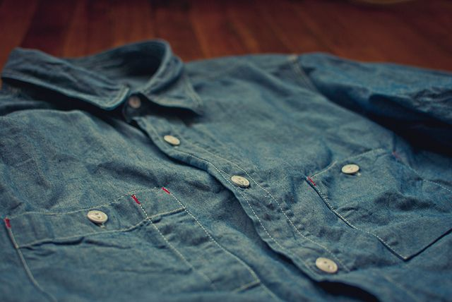 Engineered Garments F/W11 Chambray Workshirt