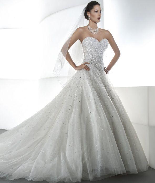 Dimitri Wedding Gowns: Ilissa Style 536 By Demetrios