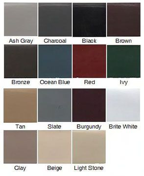 Paint Colors That Match Brown House Color Guide To The Roof