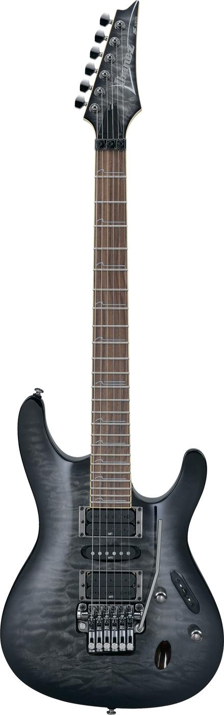 Ibanez S570DX Guitar, nice quilt top