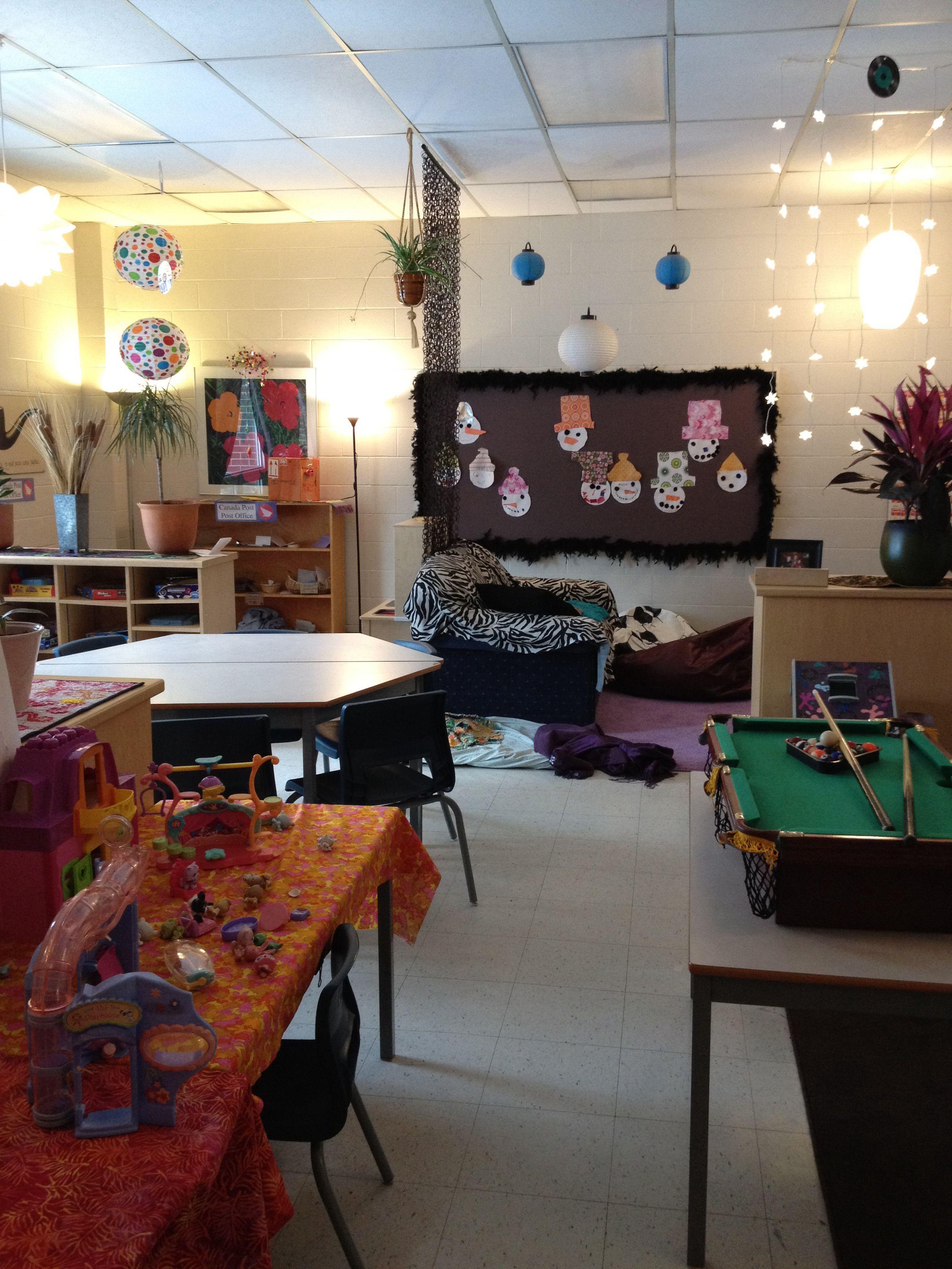 School Age Child Care Class Room