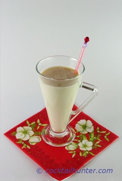 TOM & JERRY  is a classic egg drink for winter to retreat to the warm of a cozy place.