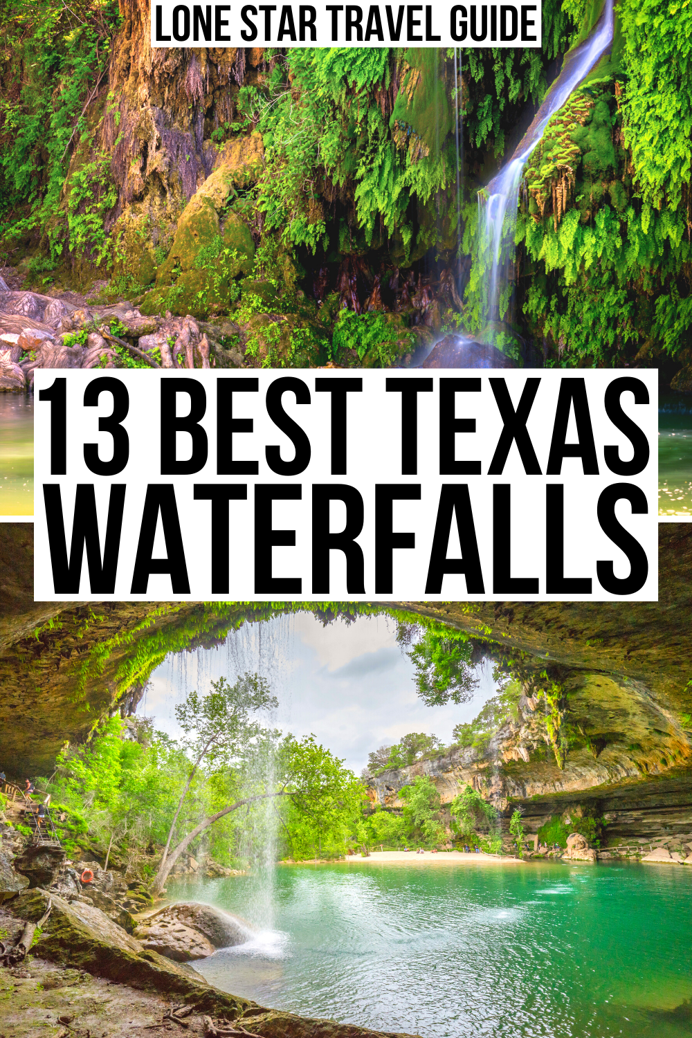 13 Best Waterfalls in Texas