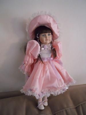 Hello Dolly Signature Series Jordan Porcelain Doll. Find me at www.dandeepop.com